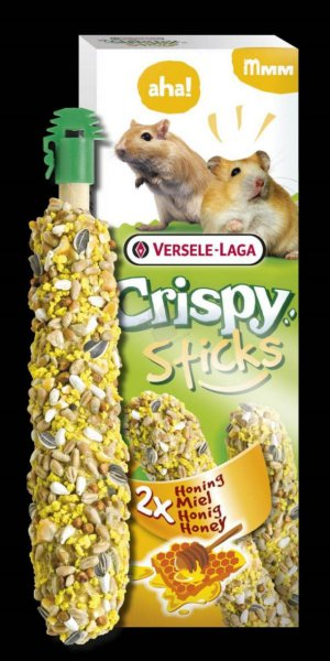 Sticks Hamsters-Gerbil Honey 2x50g