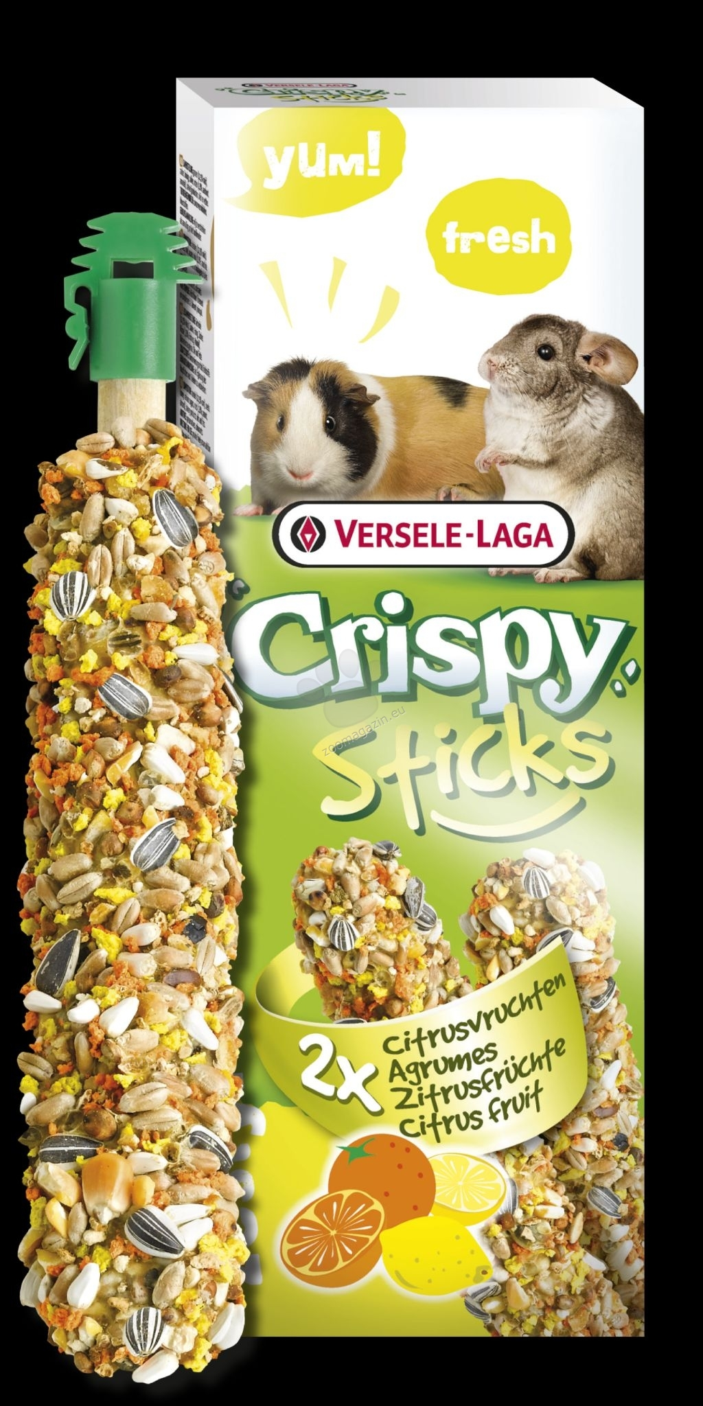Sticks Guinea Pigs-Chinchillas Citrus Fruit 2x50g,462066